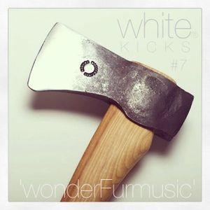 WHITE KICKS #7