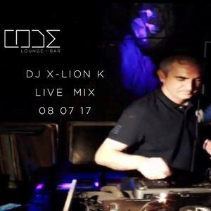 Dj X-Lion_K Live Mix @ CODE Lounge Bar - Matosinhos - Porto 08.07.17