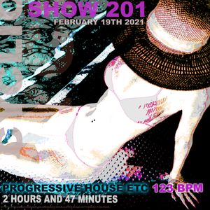 DJ Cyclic - Show 201 Progressive etc - 2 hours 47 minutes