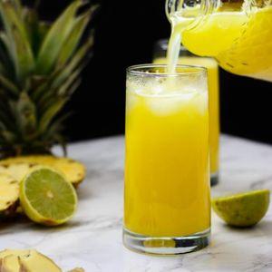 Qool Marv LIVE at Ludlow House Sunday Brunch - 2 June 2019 - Pineapple Ginger Juice