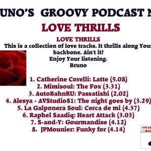 Bruno's groovy podcast n° 2 - Love Thrills