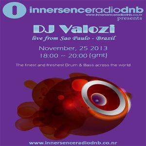 DJ Valozi from Brazil Live at Innersence Radio - 25.11.2013