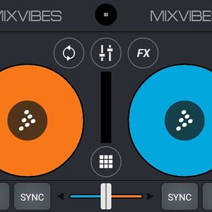 Android apk cross dj hard/dnb. Mix improvisation