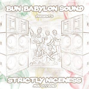 Bun Babylon Sound - Strictly Niceness Vol.1 (AUG 2010)