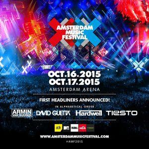 Tiesto - Live at Amsterdam Music Festival 2015 - 17-Oct-2015