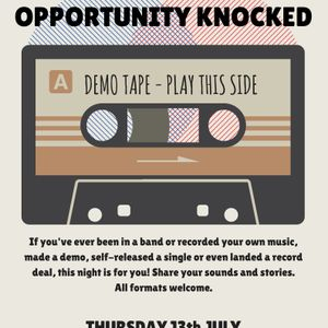 Glossop Record Club - Opportunity Knocked (July 2017)