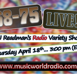 Dj Readmans Radio Variety Show: Buzzy Heavy music and 68-75 Live Performance