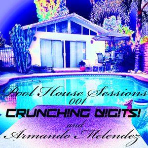 Pool House Sessions #001 CRUNCH!NG D!G!TS! and Armando Melendez