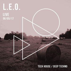 L.E.O. - Live 06.05.2017 [deep tech house, deep techno]