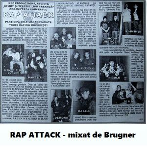 RAP ATTACK (tribute mix to early Romanian Hip Hop)