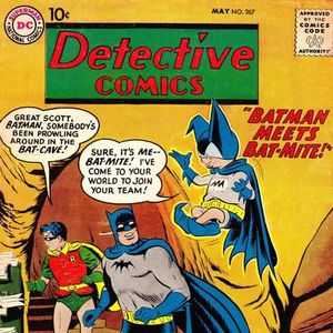17 - Detective Comics #267 - The First Appearance Of Bat - Mite