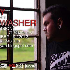 DJ WAY - Brainwasher - TechnoSessions - Diciembre 19 -2012