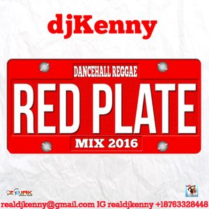 DJ KENNY RED PLATE DANCEHALL REGGAE MIX OCT 2016 by