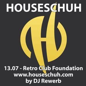 Houseschuh 13.07 - Retro Club Foundation