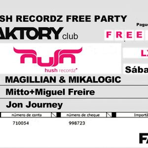 MAGILLIAN live @ HUSH RECORDZ SHOWCASE - Faktory Club Lisbon