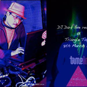 Tune in DJ Dark live recording @ Triangle Taipei 8th March 2014