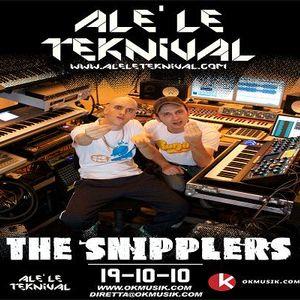 Alè Le Teknival 19.10.2010 - THE SNIPPLERS