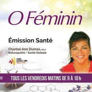Émission O Féminin no.73 du 02-11-18 Se guérir de la sclérose en plaques naturellement?