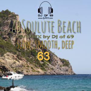 AbSoulute Beach 63 - A DJ LIVEMIX - slow smooth deep