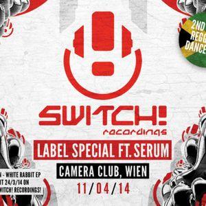 DORIAN, SKORE & NAYZ / MC'S INJA & BOMBA @ SWITCH! CAMERA CLUB 11/04/14