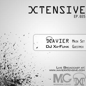 Xtensive Ep.035 ft. DJ Xa-Funk guestmix - March 12th, 2012