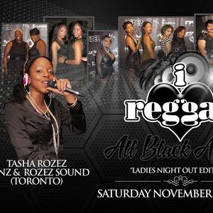IluvReggae PROMO MIX ALL BLACK AFFAIR NOV 26 #Detroit