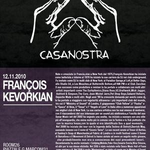 FRANCOIS KEVORKIAN in CaaNostra - djset 2010 - part 2