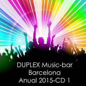 Dj IXMATRIX, DUPLEX Music-bar, Barcelona, Anual 2015-CD-1