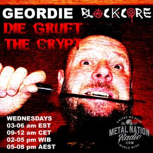 Geordie Blackcore's Crypt on May 24th 2017