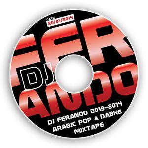 DJ Ferando 2013-2014 Arabic Pop & Dabke Mixtape