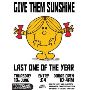 'Give Them Sunshine' Mixtape- June 2010