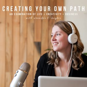 CYOP #98 - Staying Nimble + Paying Attention to the Details with Ginger Elizabeth Hahn of Ginger Eli