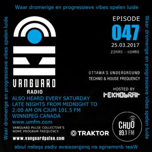 VANGUARD RADIO Episode 047 with TEKNOBRAT - 2017-03-25th CHUO 89.1 FM Ottawa, CANADA