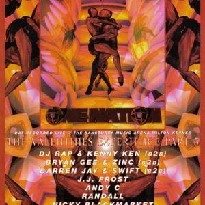 Nicky Blackmarket w. Det, Stevie Hyper D & Skibadee @ One Nation Valentines Experience 4 - 14.02.98