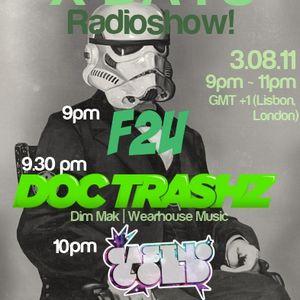 X-DAYS Radioshow! #28  - F2U Live Dj Set