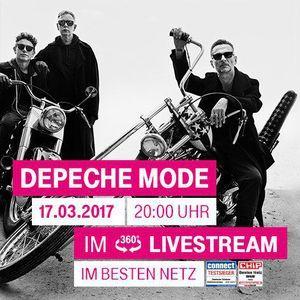 Depeche Mode - Live in Funkhaus Nalepastrasse, Berlin (17-03-2017)