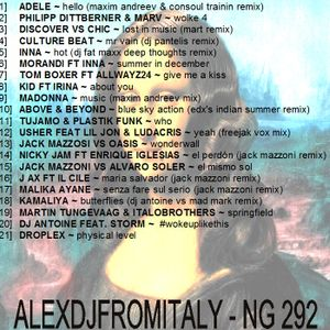 ALEXDJFROMITALY - NG292 tropical house & dance 2015