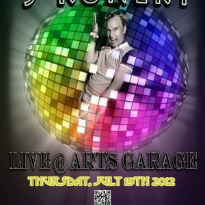 Live @ Arts Garage - S-Konekt - July 2012 - www.atmosphericsounds.com