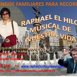 RAPHAEL EL HILO MUSICAL DE NUESTRA VIDA  28 DE MAYO