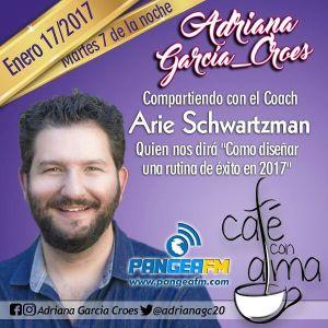 Cafe Con Alma Entrevista especial a Arie Schwartzman