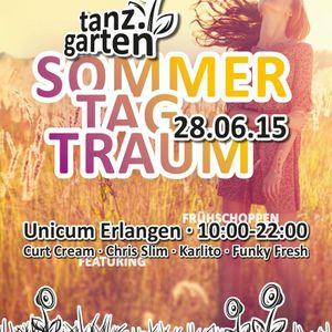 Curt Cream @ Tanzgarten 2015, Erlangen