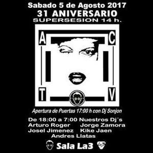 Arturo Roger @ 31 Aniversario ACTV (Sala La3, 5 agosto 2017)
