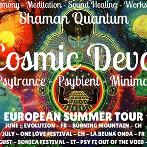 Cosmic Deva LIVE on Psychedelic Rangers Radio! - FULL ON PSY