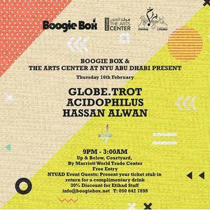Afrobeats Party: NYUADxBoogie Box (Studio Session) FEB 2017