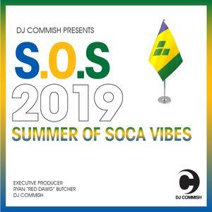 SOS Vibes Vincy 2019 - DJ Commish - http://djcommish.com