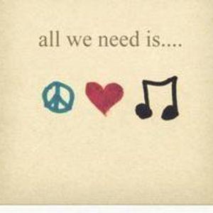 "Junkfood Inc. Set LXXII ""all we need is ☮ ❤ ♫ peace, love & music"""