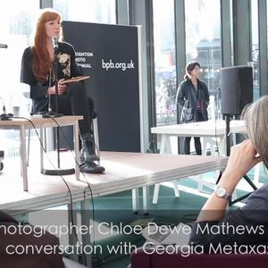 Evolving In Conversation: Chloe Dewe Mathews in conversation with Georgia Metaxas
