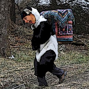Joe Barrs presents... Crack Head Panda (Puke up)