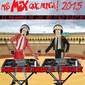 MAS MIX QUE NUNCA 2015 BY DJ NIKOLAY-D & JOEMIX Dj