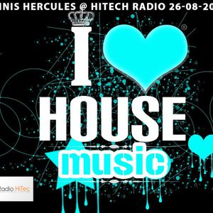 DENNIS HERCULES @ HI-TECH RADIO 26-08-2012